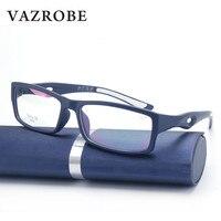 Vazrobe Sport Glasses Frame TR90 Men Clear Fashion Eyeglasses Frames For Male Youth Prescription Eyeglass Myopia