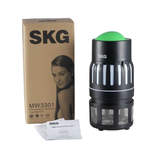 Wholesales SKG Brand Famous PortableHousehold Effective Electronic UV Mosquito Killer Free Shipping