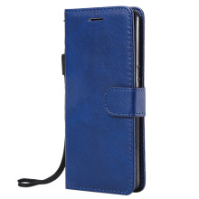 For Sony Xperia XZ4 Compact Case Flip Cover Wallet Stand Pure Color PU Leather Mobile Phone Bags Coque Fundas