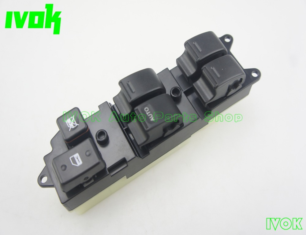 Electric Power Window Master Switch For <font><b>Toyota</b></font> <font><b>4Runner</b></font> Pickup Land Cruiser Lexus LX450 84820-35010 image