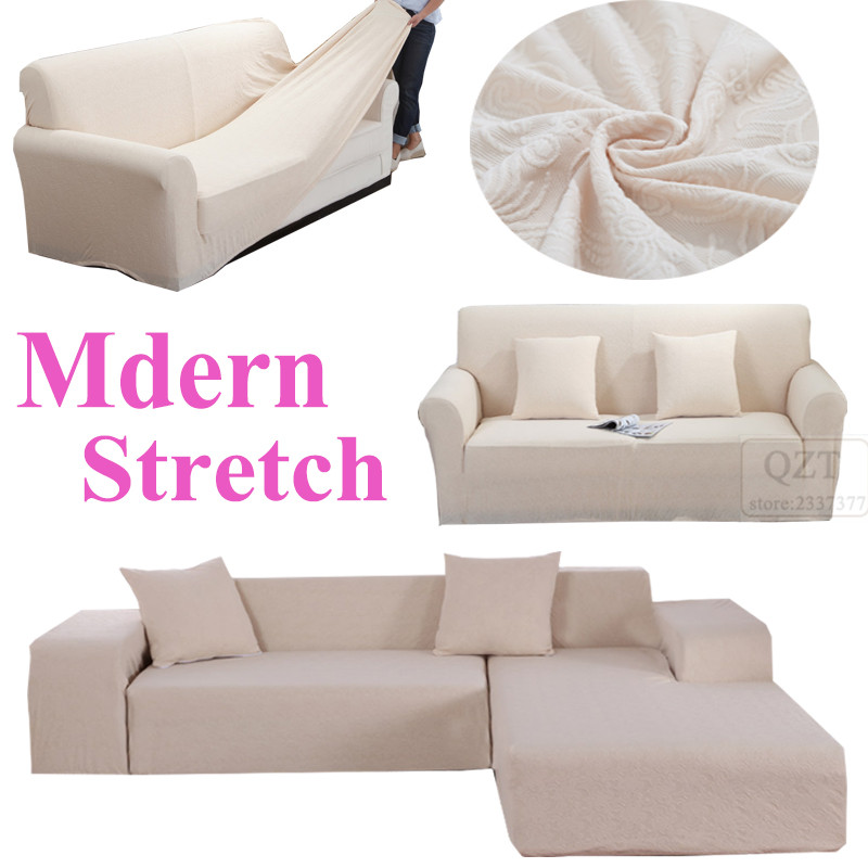 Case sofa cover l shaped corner couch comfortable modren for Universal sectional sofa slipcovers