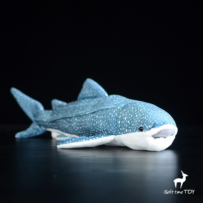 Plush Toy Whale Sharks Doll Stuffed Toys  Simulation Of Marine Animals Children'S Christmas Gifts stuffed plush animals large peter rabbit toy hare plush nano doll birthday gifts knuffel freddie toys for girls cotton 70a0528