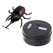 Инфракрасный имитация на дистанционном управлении Жук Мини Rc животных Детская игрушка в подарок для мальчиков