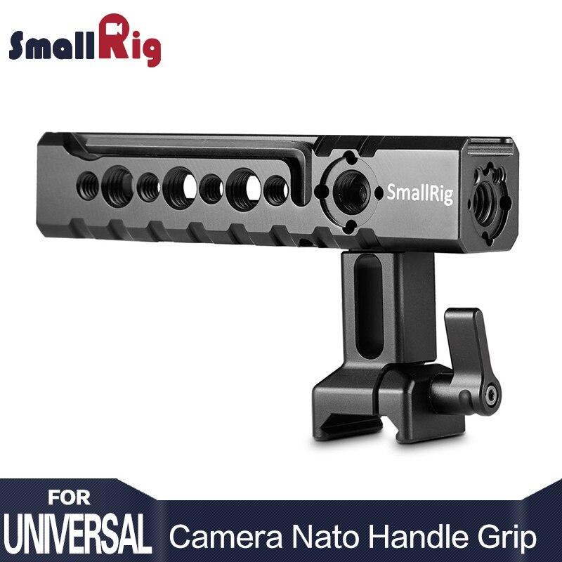 SmallRig камера ручка видеокамера Действие стабилизации НАТО регулируемый Топ Ручка для SmallRig BMPCC 4 к Cage 1955