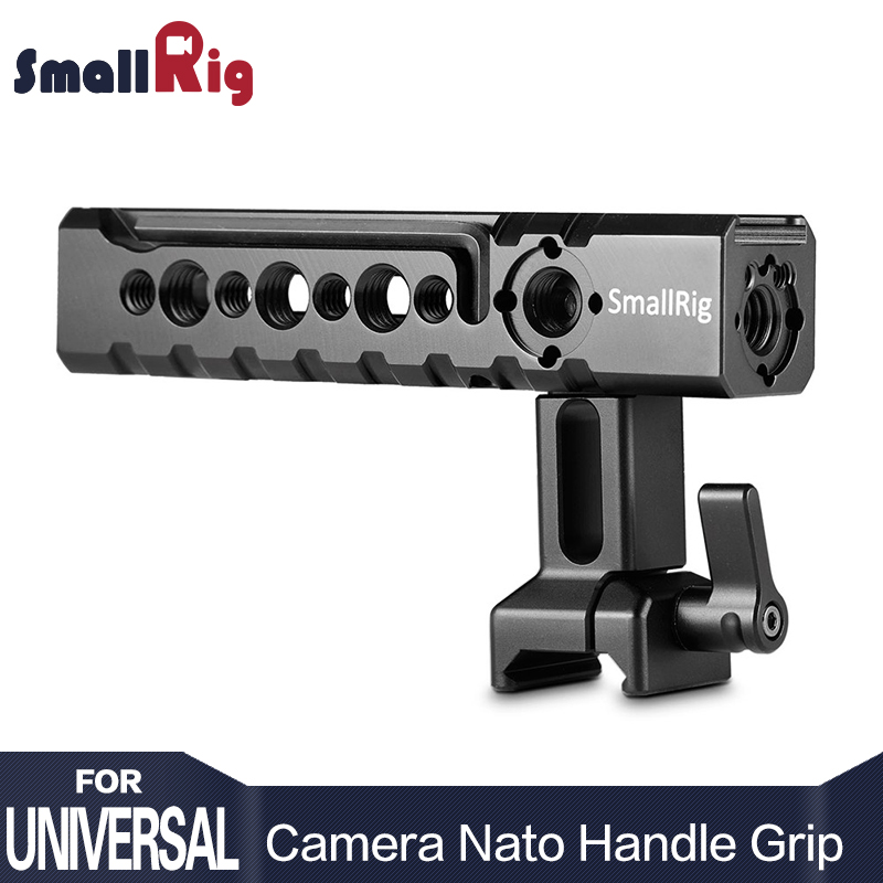 SmallRig Camera / Camcorder Action Stabilizing NATO Handle Adjustable Aluminum Top Grip For Sony A6500 A6300 Cage - 1955 sony a6500