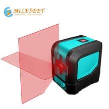 Nivel láser rojo L12R, nivelación láser profesional, trípode de carbono para nivel láser rojo