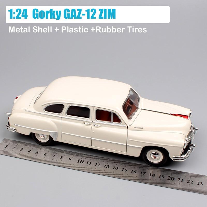 Antique Tin Toy ZIM GAZ M12 USSR Army General Military Important Limousine