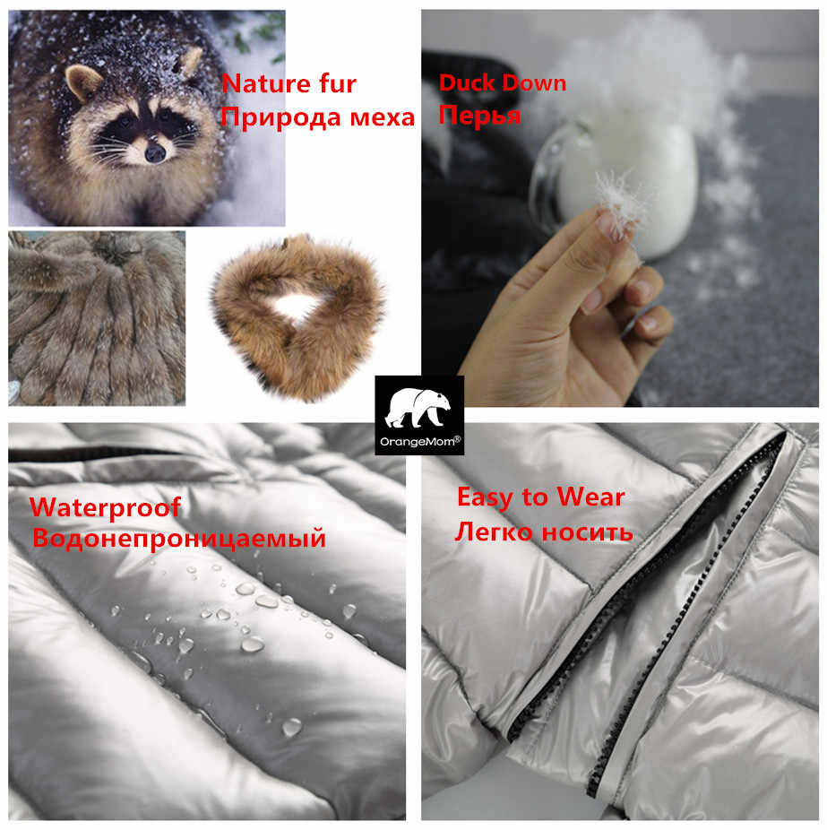 Độ mùa Đông Nga quần áo trẻ em xuống áo khoác bé trai áo khoác ngoài áo khoác, làm dày Chống Thấm Nước snowsuits Bé Gái Quần Áo