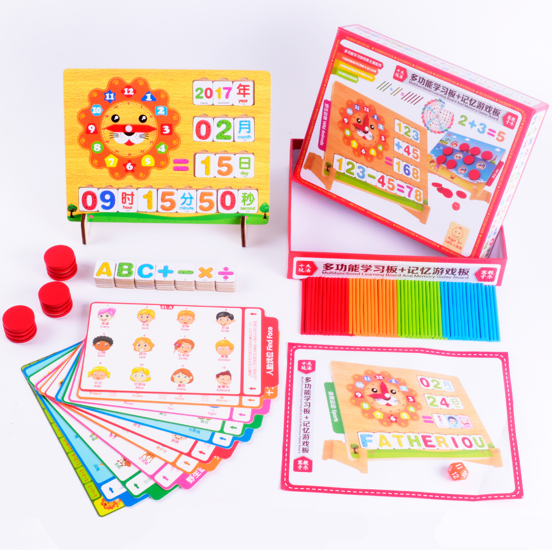Fungsi jam menghitung tongkat untuk belajar aritmatika digital mainan bayi anak usia dini pendidikan anak 3 6 tahun di Teka teki dari Mainan & Hobi