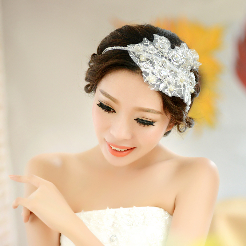Wedding Gowns Accessories: Aliexpress.com : Buy Lace Rhinestone Hairband,wedding