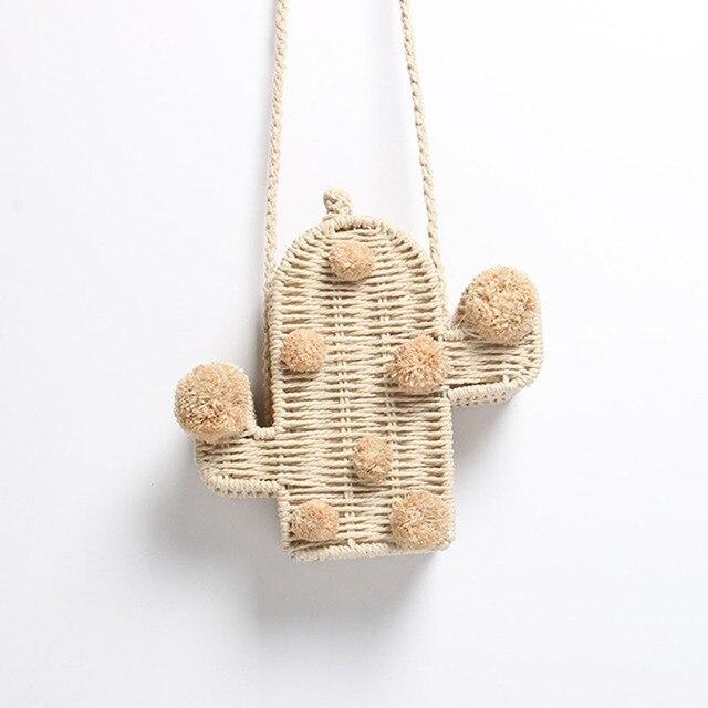 Beach Bag Cactus Rattan Bag...