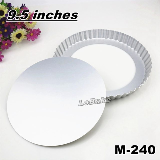 9.5 inches loose bottom aluminium anodising round chrysanthemum wavy pie pan pizza stone pancake cheesecake mold  sc 1 st  AliExpress.com & 9.5 inches loose bottom aluminium anodising round chrysanthemum wavy ...