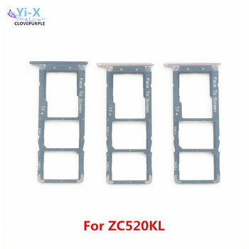 5pcs/lot New Micro SIM Card Tray Slot Holder SIM Slot For Asus Zenfone 4 Max ZC520KL Replacement Parts