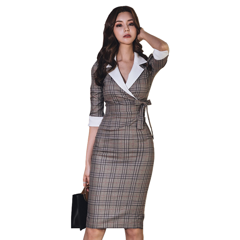 f77587d5f3b19 Worldwide delivery office lady dress in NaBaRa Online