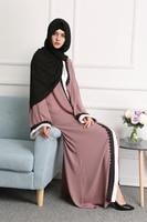 Plus Size 2017 Adult Emboridery Lace Cotton Liene Robes Musulmane Turkish Abaya Muslim Cardigan Robes Arab