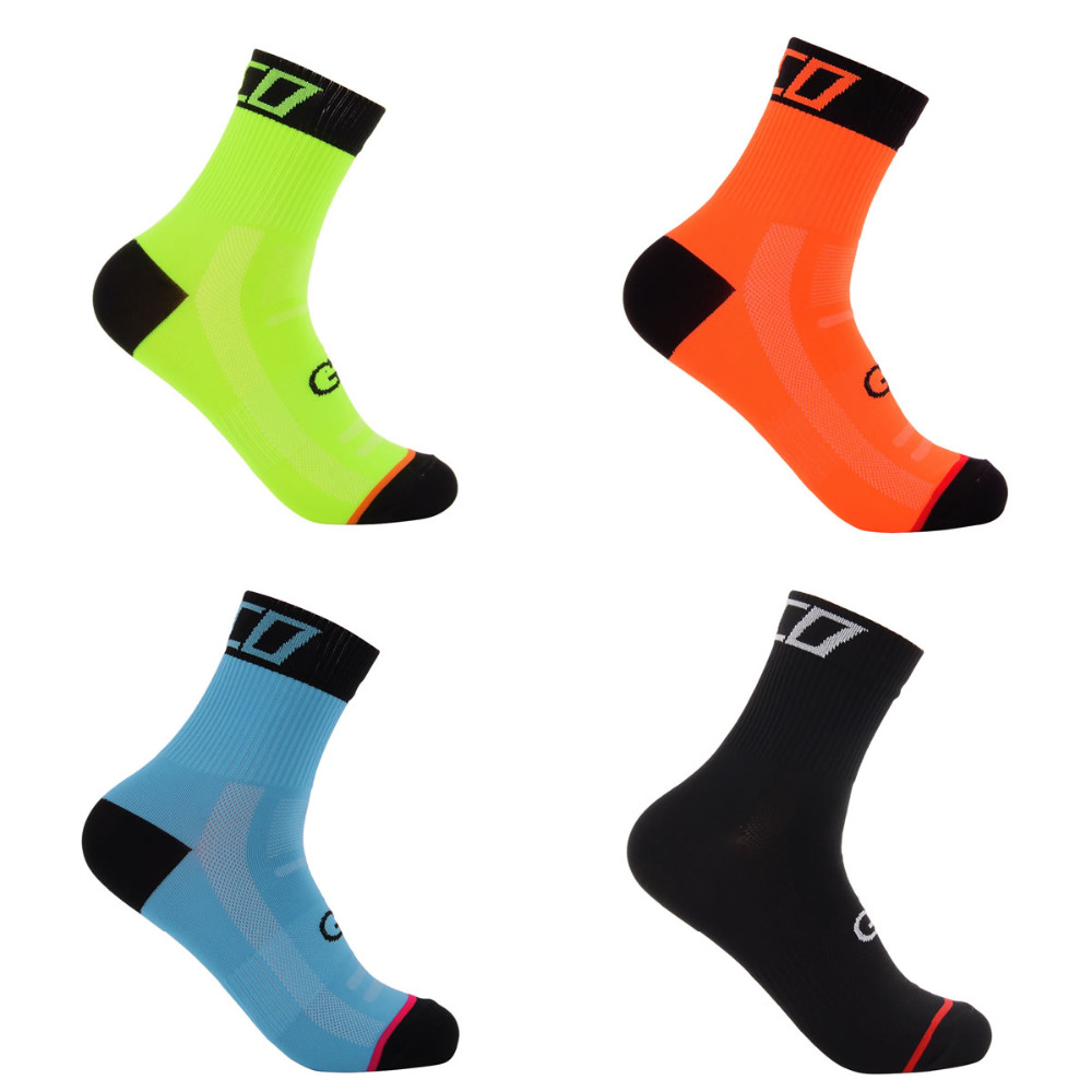 High Quality Sport Socks 5 Color Unisex Tour de France Team Cycling Socks Riding Bike Socks Sports Runing Yoga Socks size 39-46 soumit 5 colors professional yoga socks insoles ballet non slip five finger toe sport pilates massaging socks insole for women