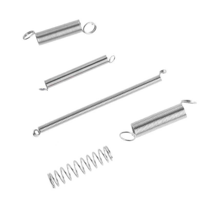 купить 200 Pcs/Box 20 Size Springs Set Mixed Size Metal 8 Size Tension With 12 Size Compression Spring Kit --M25