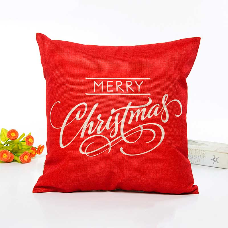 Christmas Decoration Pillow Cover Case 2