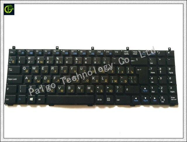 Russian Keyboard for Clevo DNS 0123975 MP-08J46SU-4306W 6-80-M9800-283-1D MP-08J43NI-430 PHILCO 15A SIM2000 RU Black