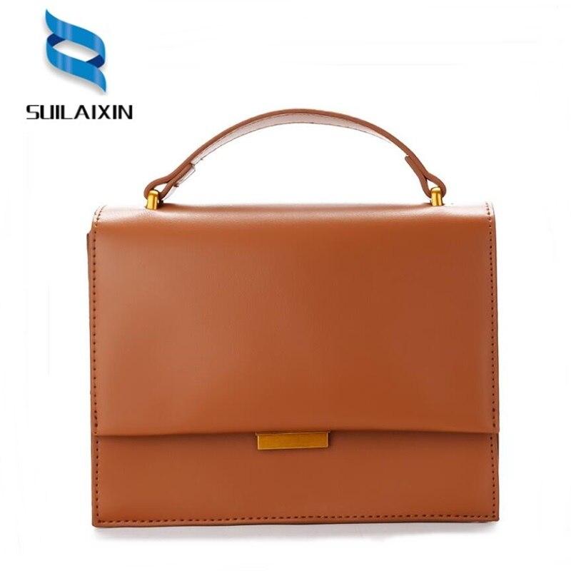 brand women shoulder crossbody bag high quality female small messenger bags flap ladies bags with thread retro handbag bolas