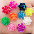 Новинка 10 шт. 20 мм AB Смола 3D цветок камень с плоским основанием для свадьбы Diy дизайн кнопки крафт K33