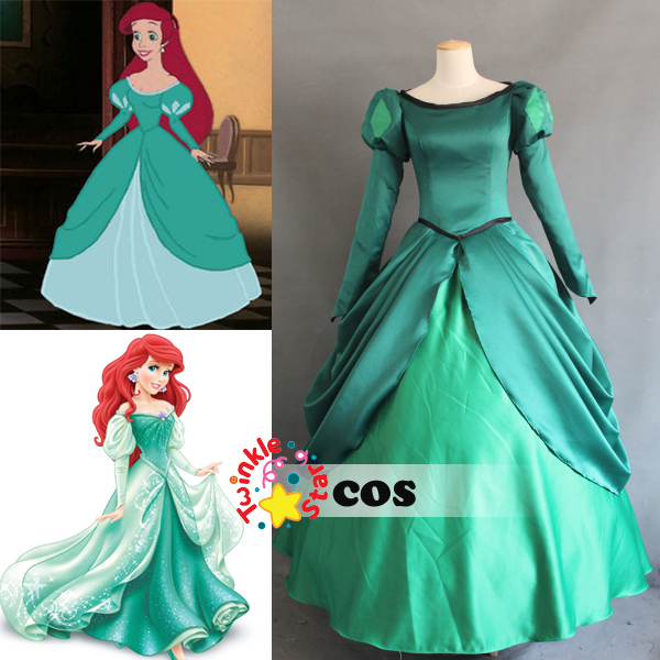2017 sexy costumes for women disnye the little mermaid