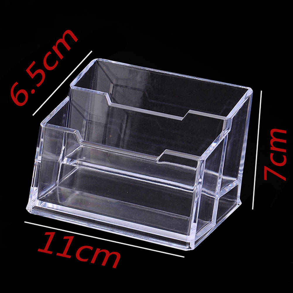 Desk Shelf Box Charm Style Display Stand Personality Business Card Holder Trend Simple Item Desktop New-in Card Holder & Note Holder from Office & ...