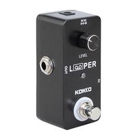 KOKKO Guitar Pedal Looper 24bit Lossless Professional Guitar Bass Effect Pedals Tube Overload Stomp For Guitar Accessories