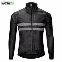 Reflective Cycling Jacket MTB Waterproof Windproof Bicycle Windcoat Bike Jacket ropa ciclismo hombre Men Women Cycling Wind Coat