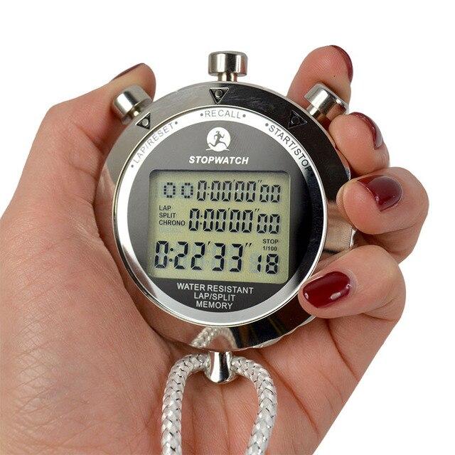 ps 538 digital lcd display stopwatch metra body quartz counter