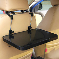 Car Foldable Table Steering Wheel Seat Stand Holder For Laptop Notebook Food Drink Cup NR shipping