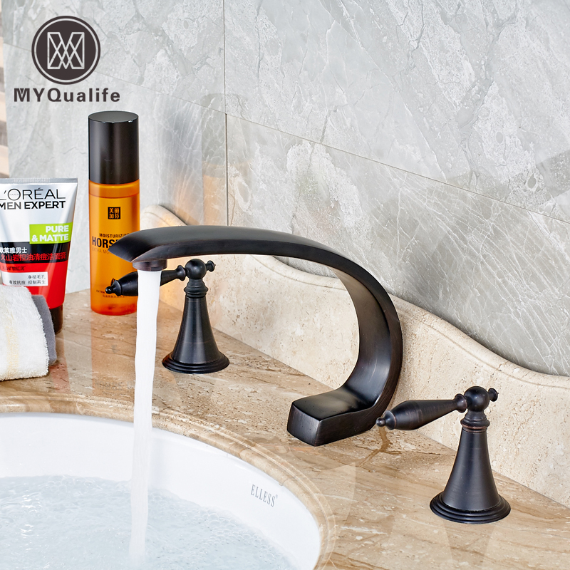 Best Quality Two Handle Bath Sink Faucet Bathroom Basin
