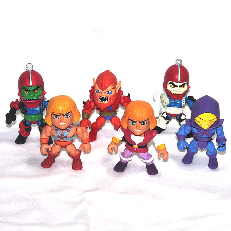 8cm Masters of the Universe HE-MAN Loyal Subjects Action Vinyls Figure Loose Collection masters of the universe