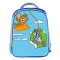 Nueva Tom y Jerry de Dibujos Animados 13 Pulgadas Mochila Azul Escuela bolsas Para Pequeños Niños Lindos Bolsa de La Escuela Infantil Mochila Para bebé