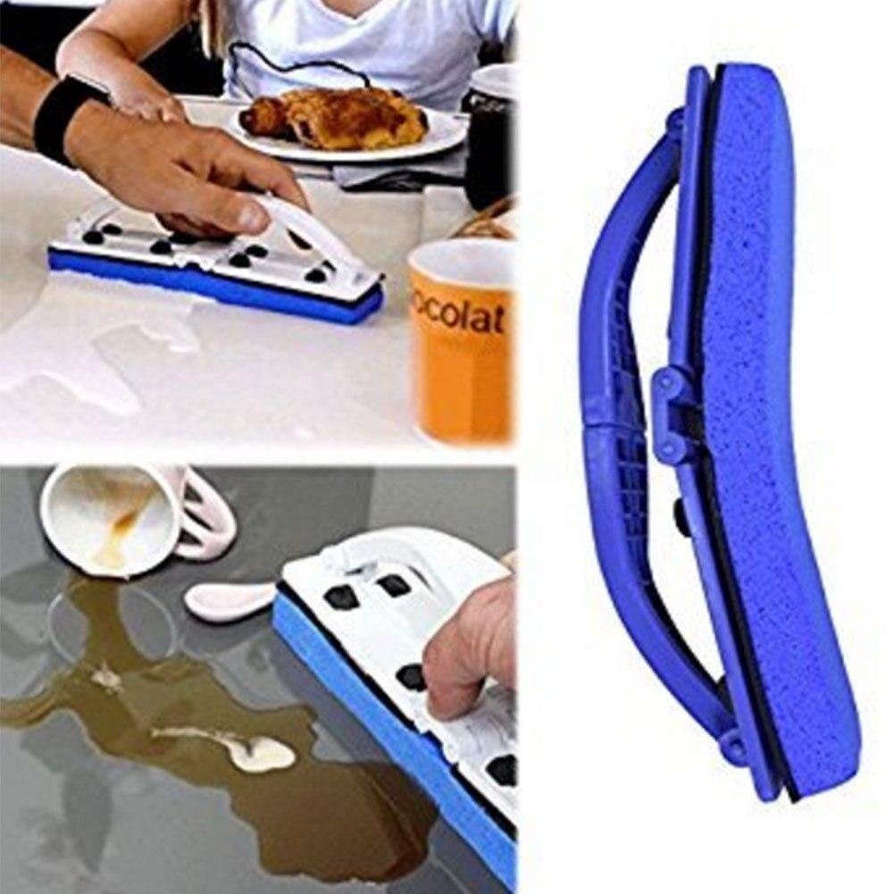 Flexi Pinsel Schwamm mit Griff Blau Schwamm Flexi Pinsel Einfach Squeeze Neue Ideen Home Küche Bad Sauber Werkzeug