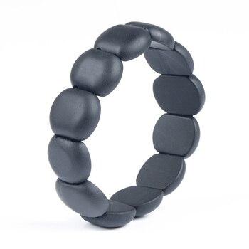 Bianshi Black Bian Natural Stone Bianshi Carve Black Bracelet For Men&Women jewelry 3
