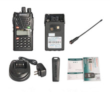Ad ultrasuoni originale KG-UVD1P walkie-talkie UV dual-band doppia frequenza dual-display dual attesa della piattaforma