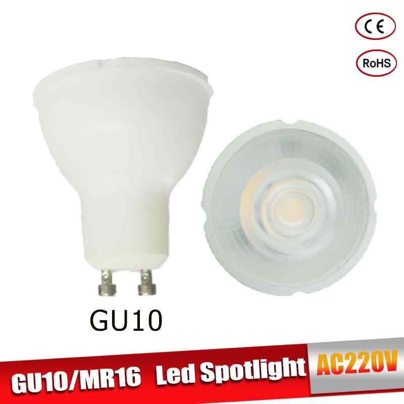 GU10 MR16 LED Light Bulb Lampada Ampoule Bombilla 6W 220V LED Spotlight Warm White Cold White Led Lamp Lampara For Home