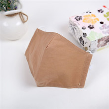 10pcs/Bags Summer and Autumn New Fashion Linen Solid Color Mask A Variety of Styles Optional Dust Sunscreen Breathable Masks
