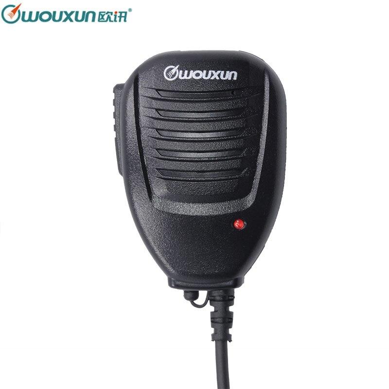 D'origine de Haute Qualité Wouxun Haut-Parleur Microphone pour Wouxun Tous Portable Talkie Walkie KG-UVD1P KG-UV6D KG-UV8D KG-UV9D Plus