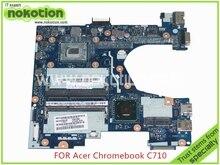 Q1VZC LA-8943P NBM8911004 NB.M8911.004 For acer chromebook C710 laptop motherboard SR10A celeron 1017U HM70