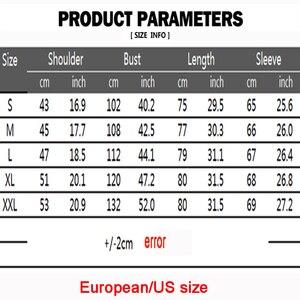 Image 5 - האיחוד האירופי גודל גברים של מזדמן ארוך שרוולים חולצה stand צוואר סיני סגנון חולצות חולצות זכר רקמת דפוס כותנה תערובת חולצות