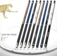 PREOAIDR 3142 E9X Pool Cue Billiard Stick Kit 10mm 11.5mm 13mm Tip 4 Colors Two Handles durable Type 2019