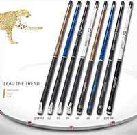 PREOAIDR 3142 E9X juego de palillos de billar 10mm 11,5mm 13mm Punta de billar Cue 4 colores dos manijas de tipo duradero 2019