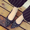 2017 Shoes Woman Genuine Leather Flats Ladies Shoes High Quality Shoes For Women Top Casual Work Loafers Shoe