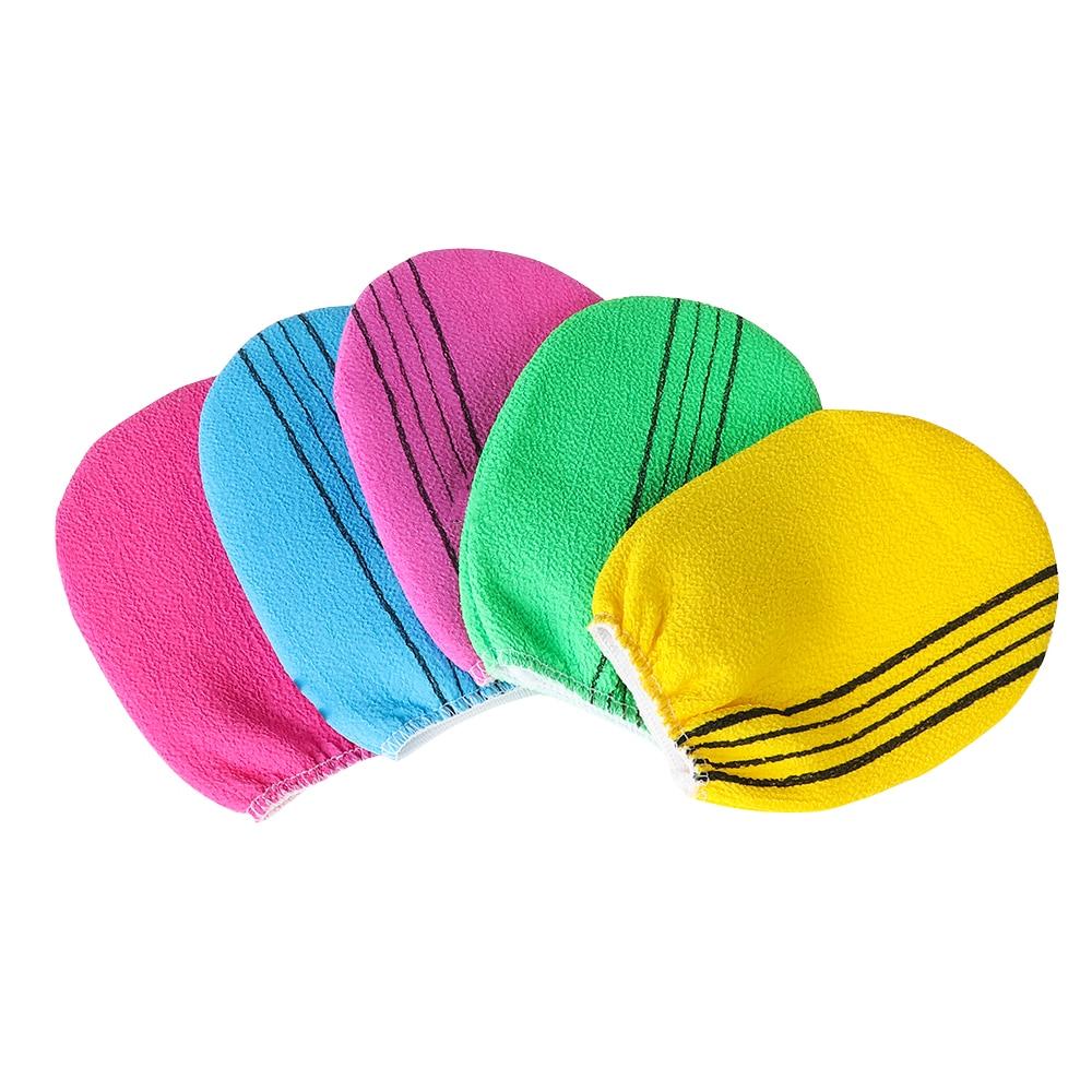 Random Color!! 1PC Korean Italy Exfoliating Body-Scrub Bath Gloves Body Massage Cleaner Towel Shower Scrubber Bodys Treatment