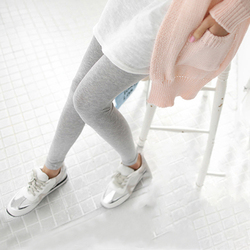 1PC Women Fashion Simple Solid Leggings Women Stretchy Cotton Skinny Leggings Sexy Colorful High Waist Legging Clothes Accessory 4