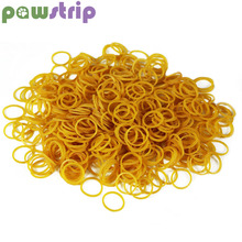 pawstrip 200pcs/lot Pet Accessories Small Dog Rubber Bands Diameter 15mm Hair