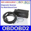 Новая Функция Wi-Fi USB ELM327 Читатель Кода Два Вида Метод диагностики Wi-Fi ELM 327 Авто Сканер Поддержка IOS Android ПК