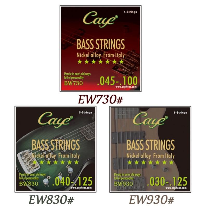 guitar strings caye crossing 4 5 6 string electric bass guitar strings hexagonal steel core. Black Bedroom Furniture Sets. Home Design Ideas